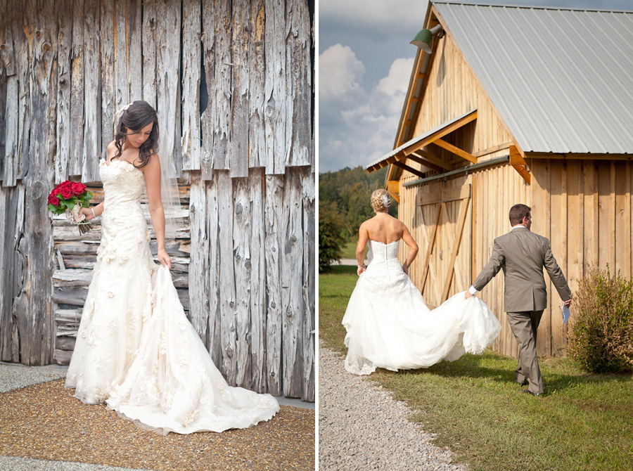 Tennessee bridal photos