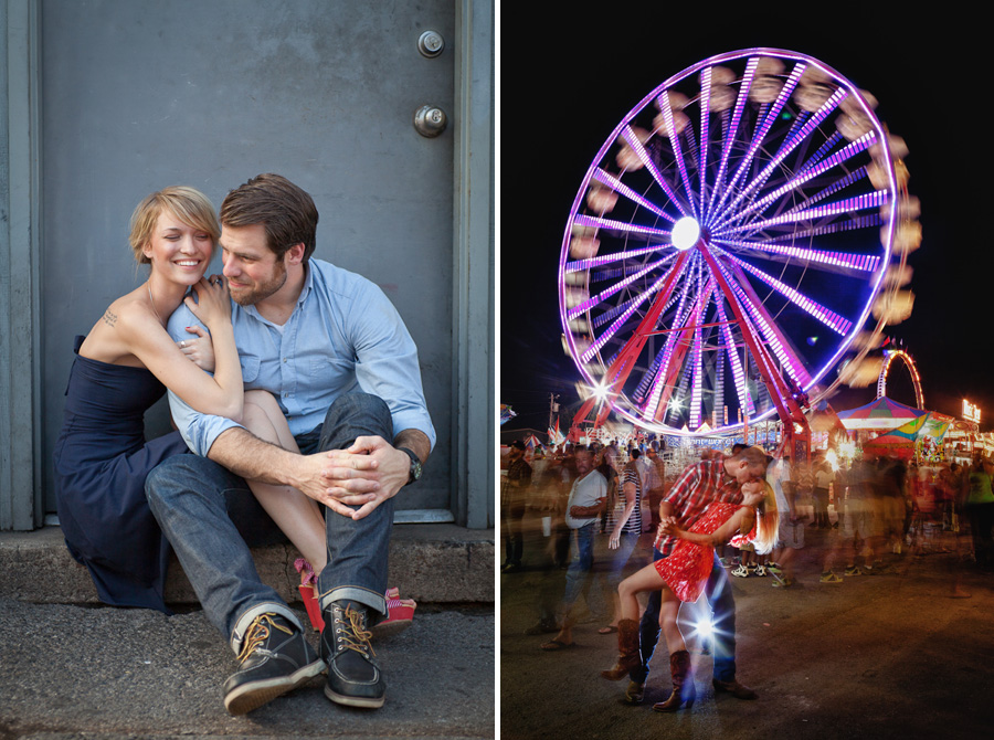 Nashville TN engagement photography