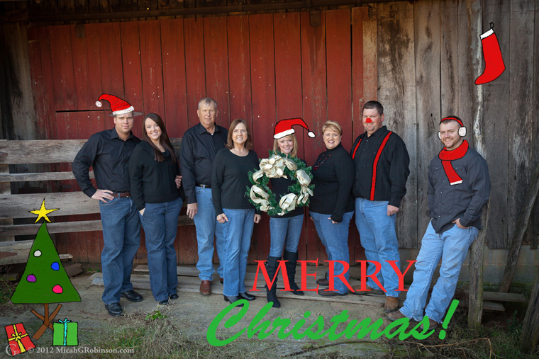 Nashville Christmas photography