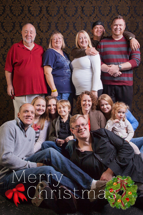 Christmas family photos