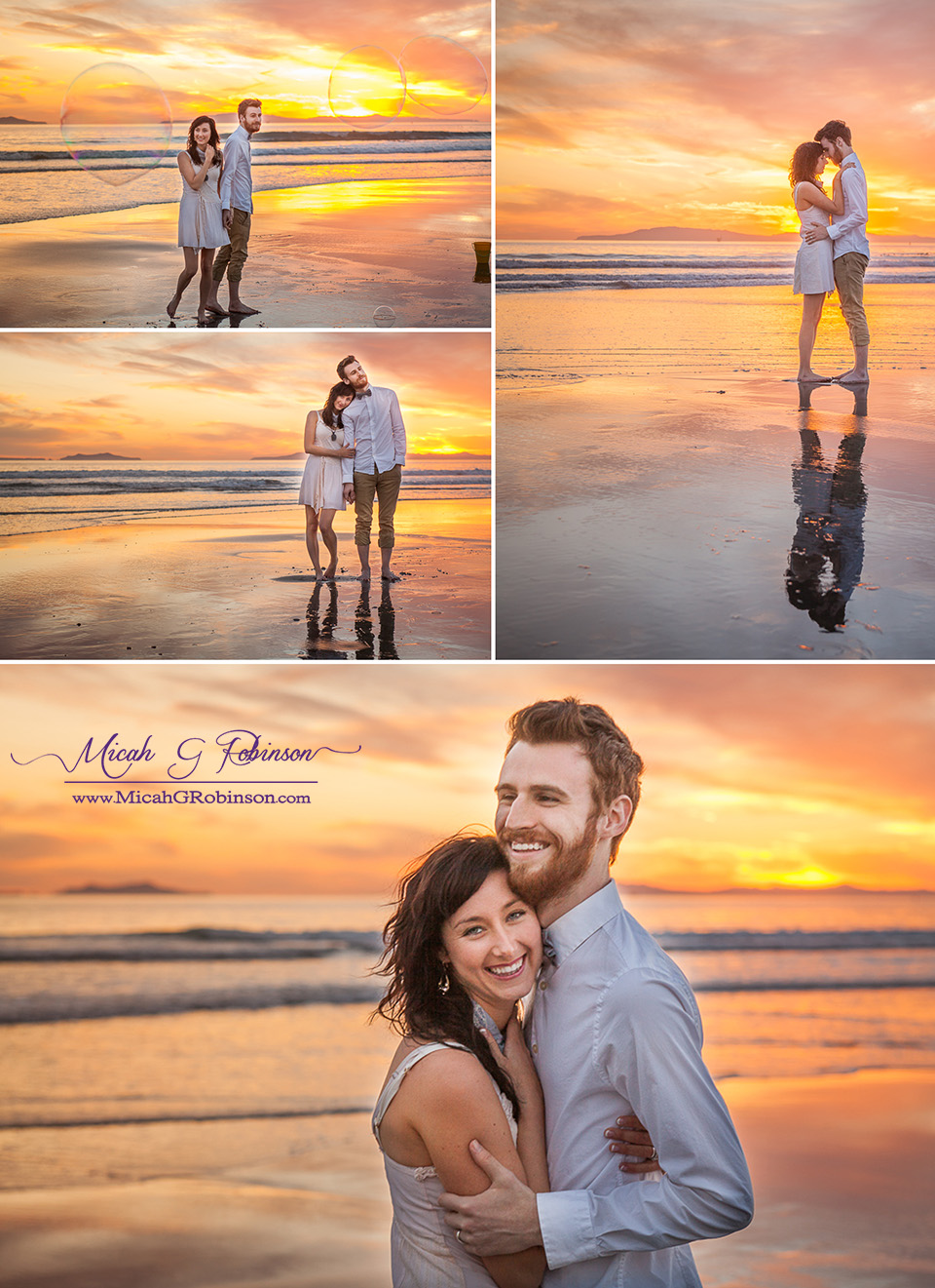 A Little Fun In The Sun // Cali Engagement Session ...