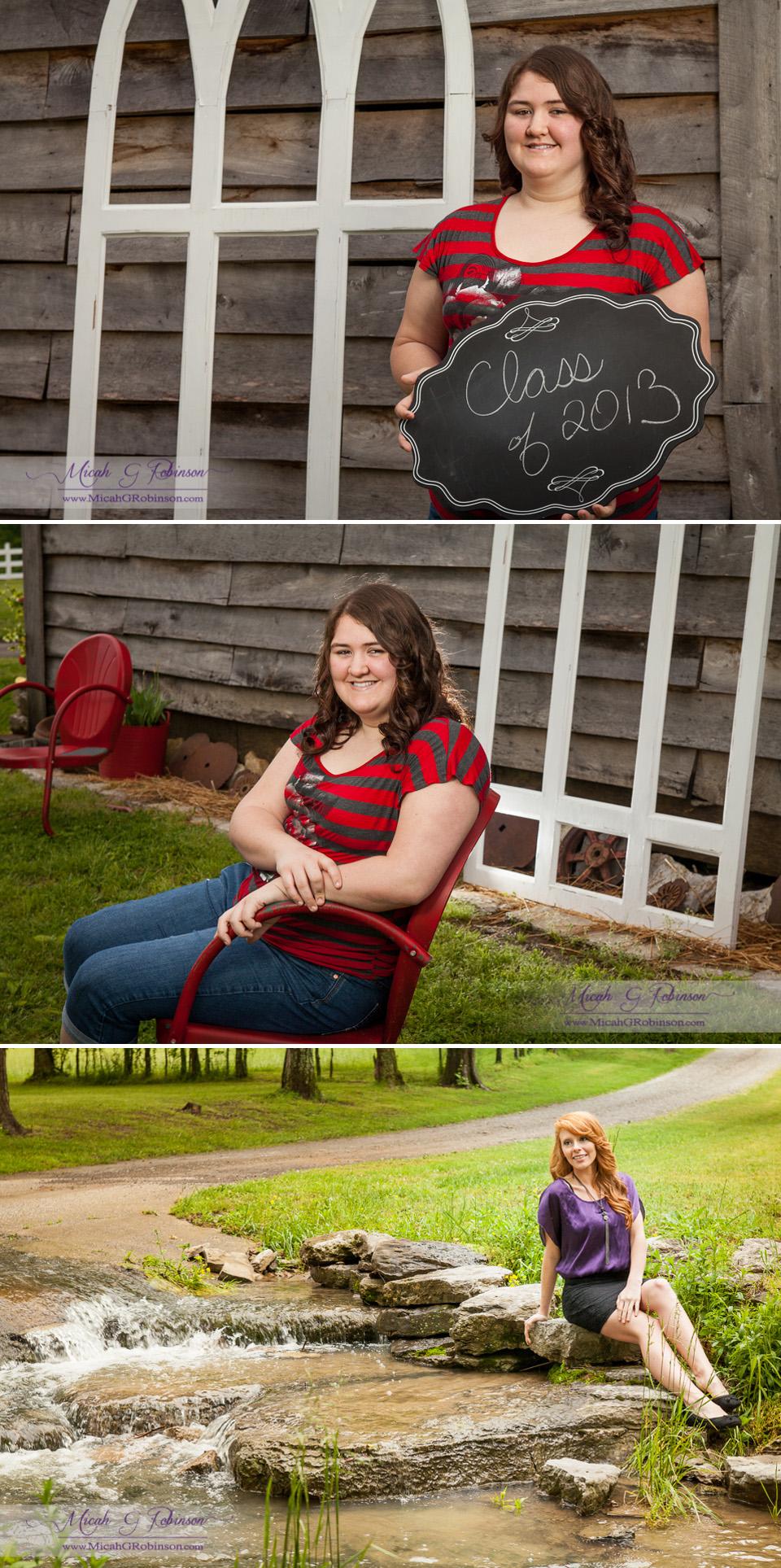 Nashville senior portraits.
