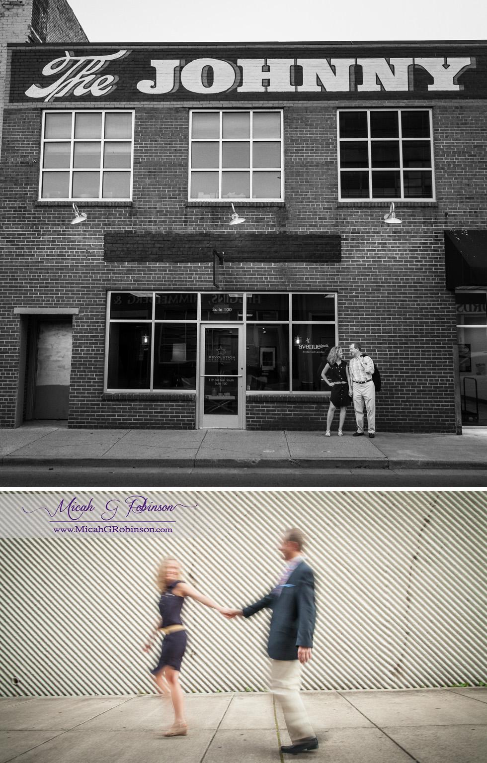 artistic fashion engagement photos