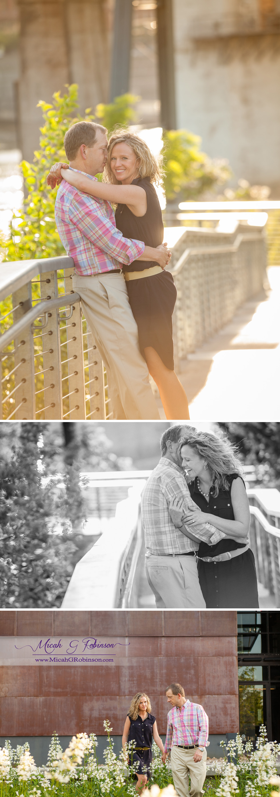 Modern fashion engagement session