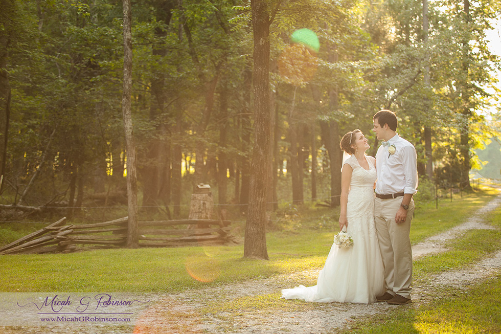 Tennessee country wedding photography