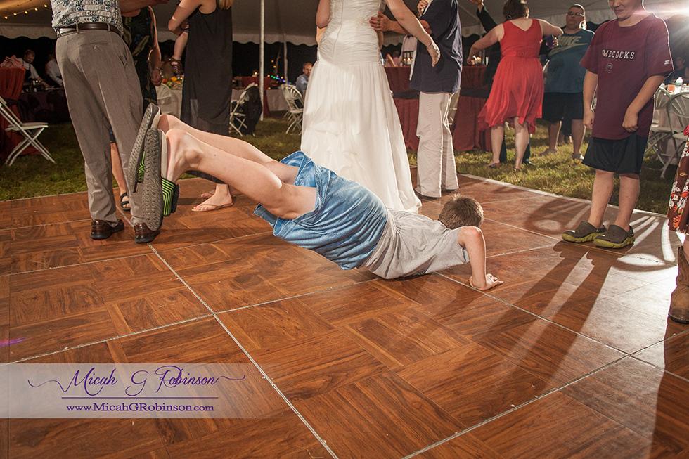 Child dance wedding
