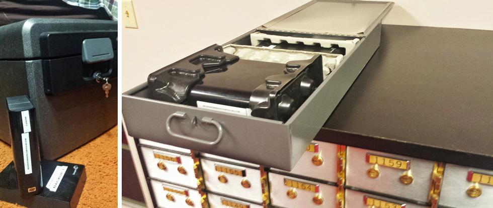 Backup hard drives photography