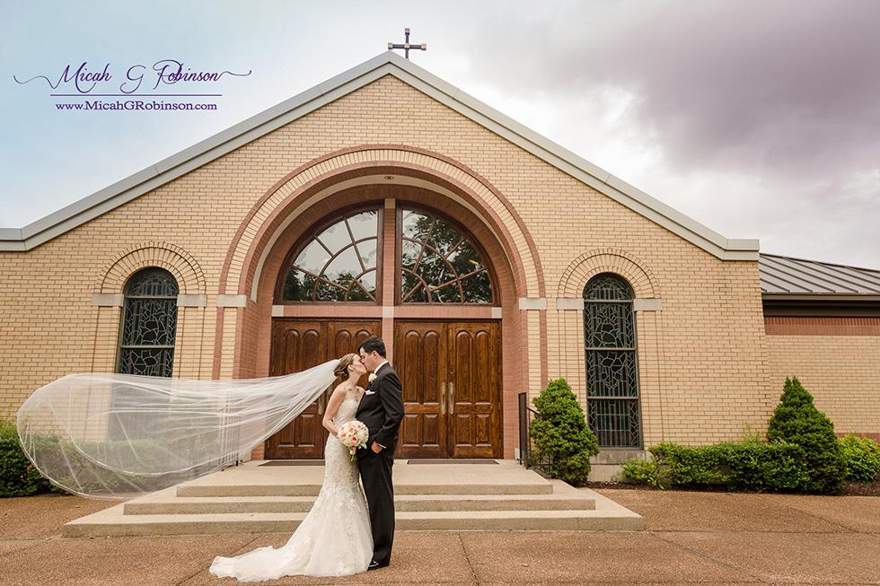 Catholic church wedding