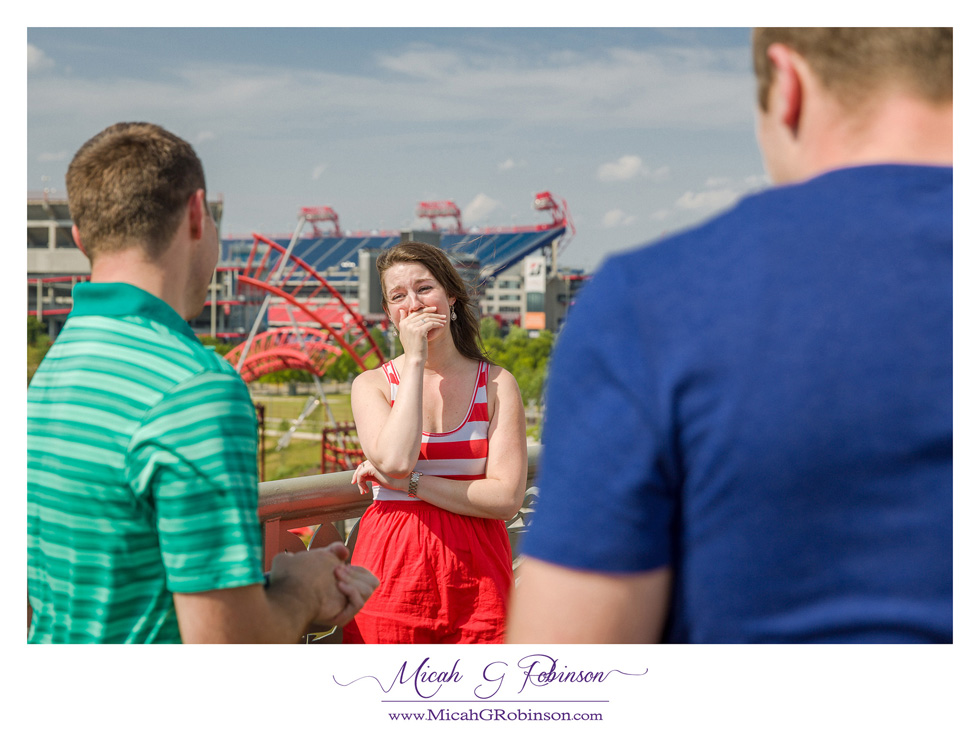 Surprise proposal Nashville