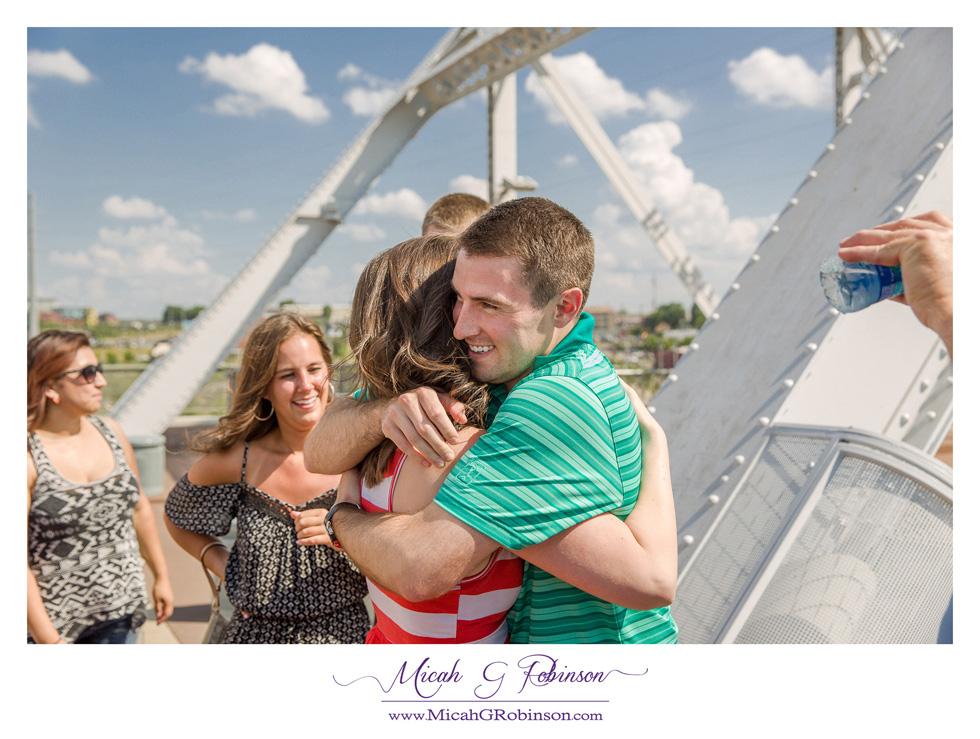 Nashville proposal couple