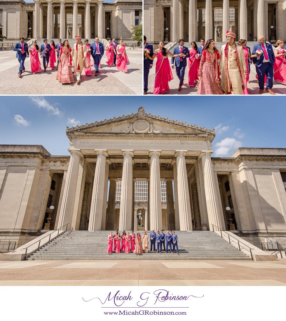 Indian wedding party Nashville