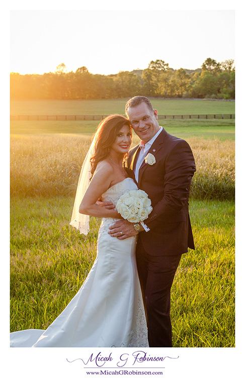 Sunny couples portrait