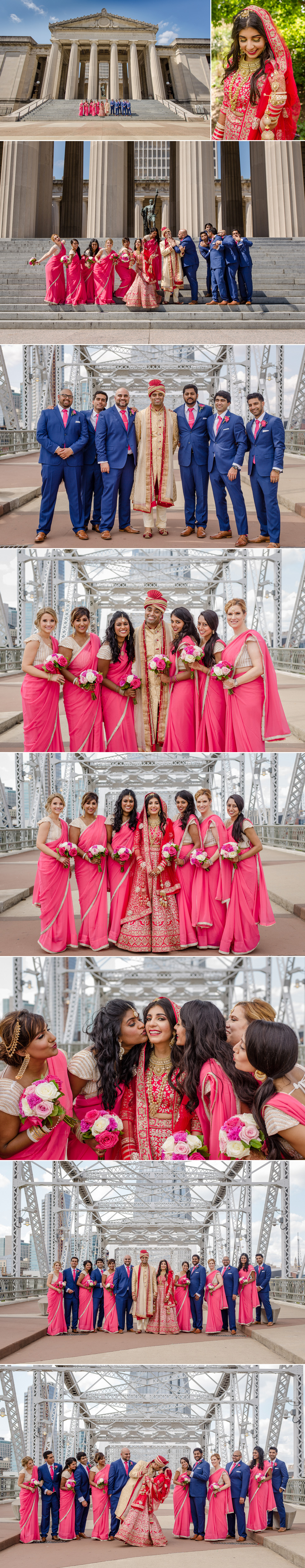 Nashville Indian wedding portraits