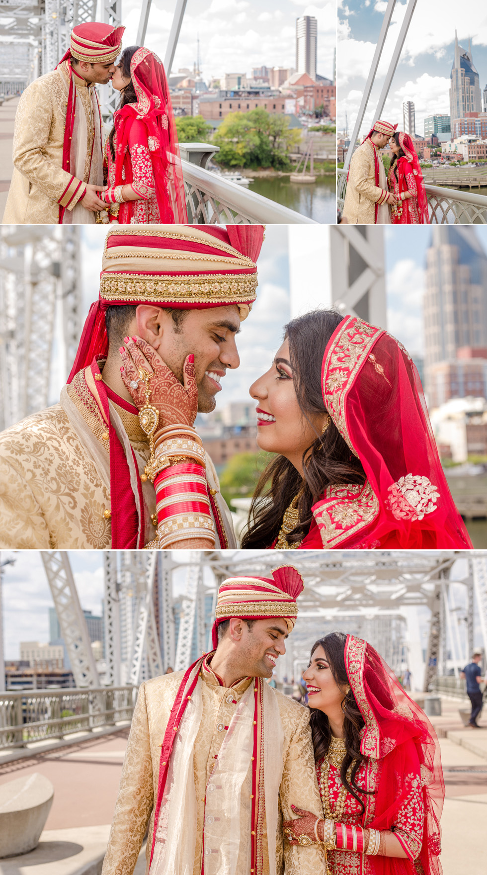 Nashville Indian couple portraits